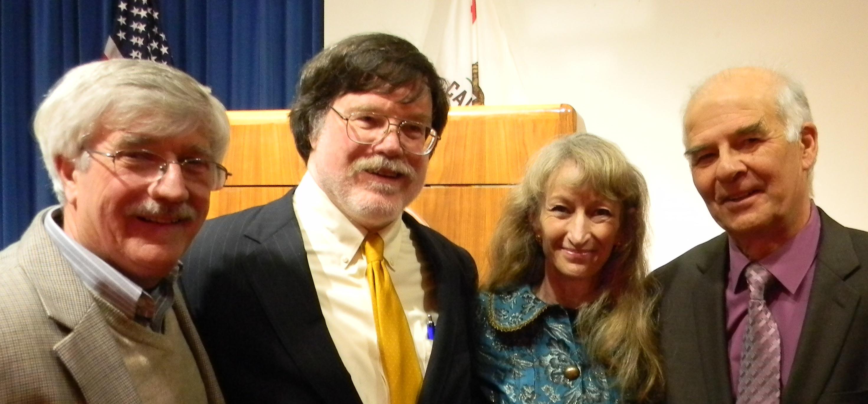 VRTF members with Debra Bowen